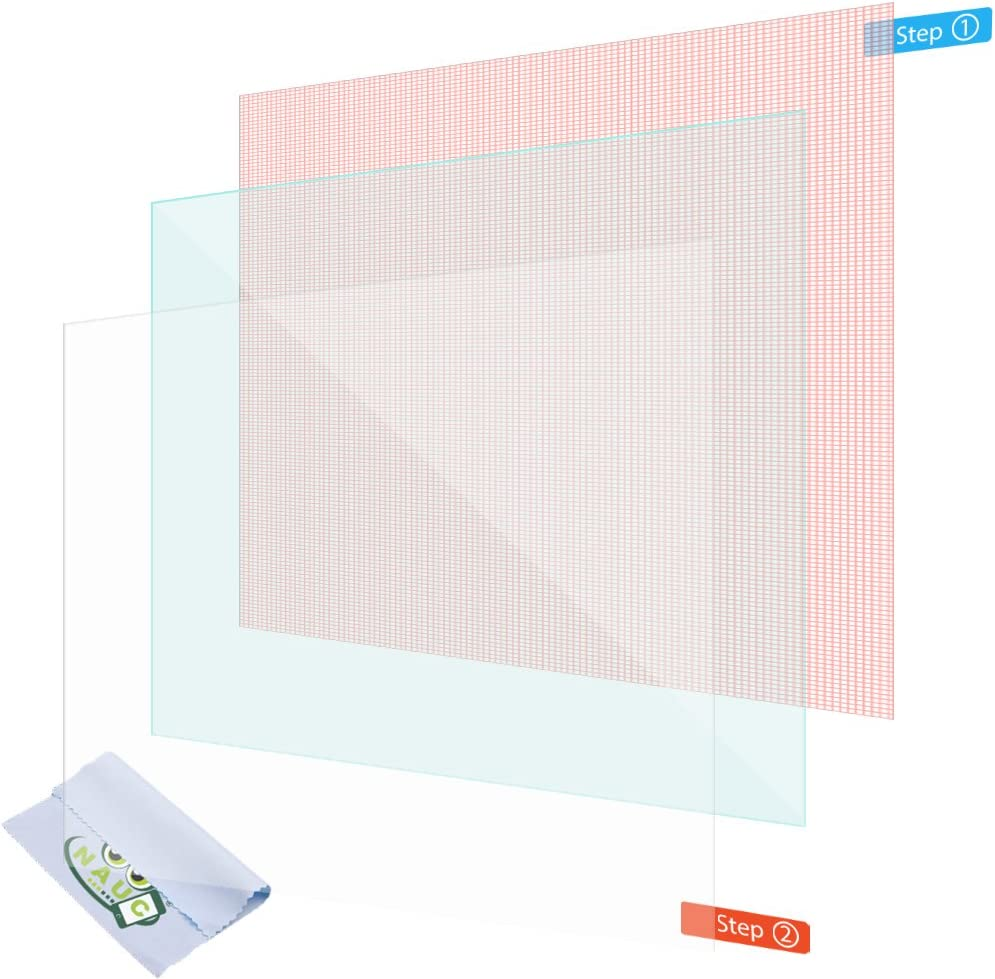 NAUC 2/X Pellicola Protettiva Schermo 10.1/Pollici Tablet Schermo Universal Display Antiriflesso