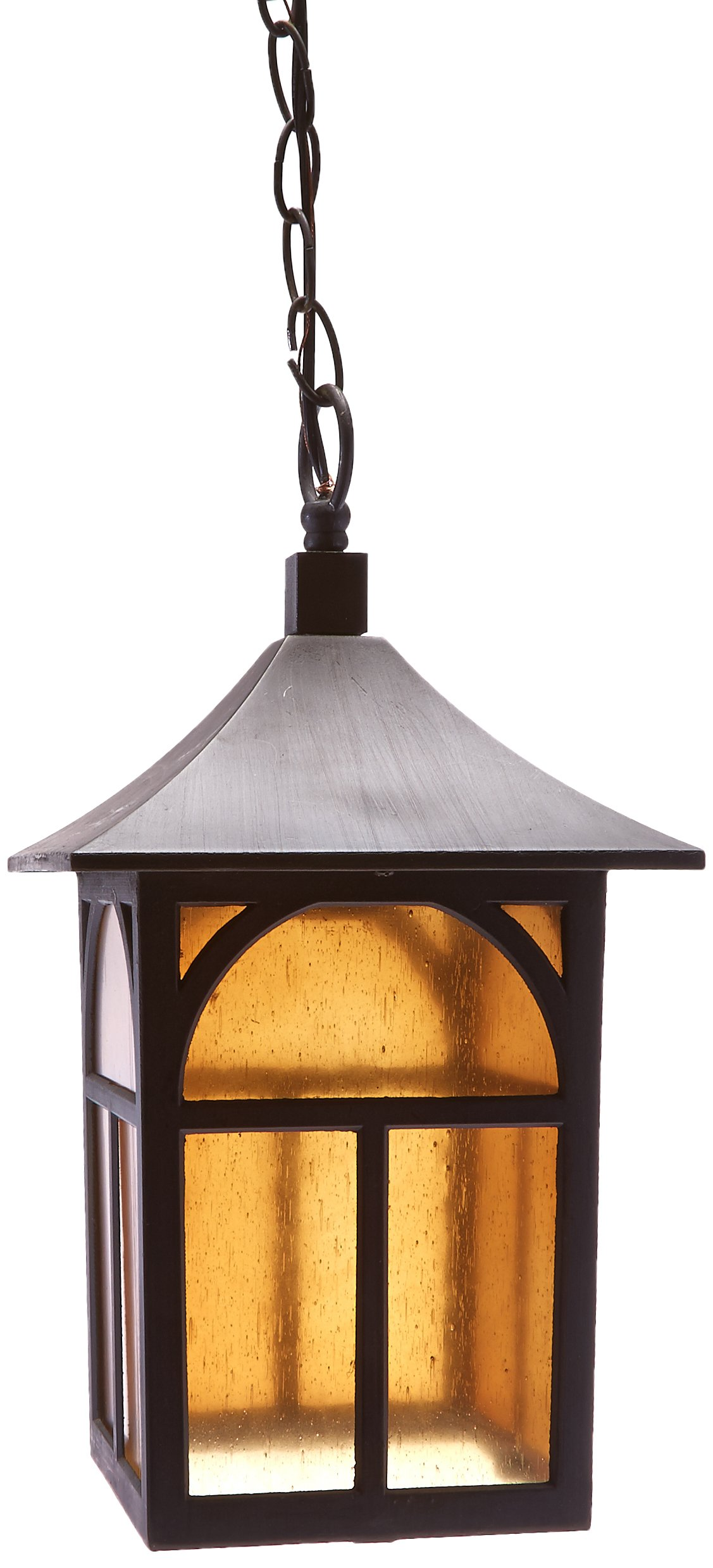 Galaxy Lighting 311384ORB Chain Hung Outdoor Pendant, Oil Rubbed by Galaxy Lighting