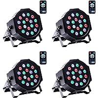 UKing Par LED,Luz de Escenario Par DMX512 RGB