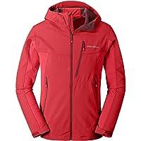Eddie Bauer First Ascent Men's Sandstone Shield Hooded Jacket (Cardinal)