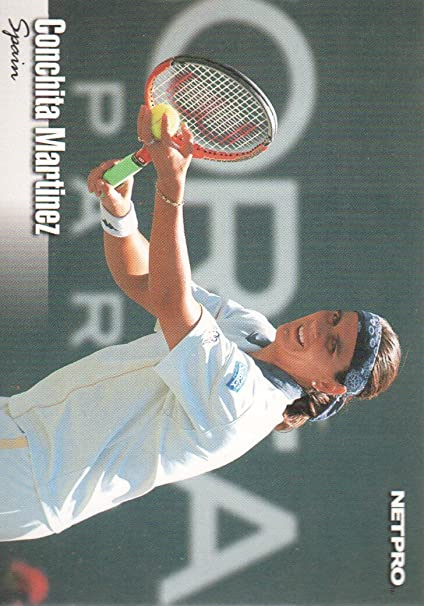2003 NetPro Tennis #40 Conchita Martinez RC at Amazons Sports Collectibles Store
