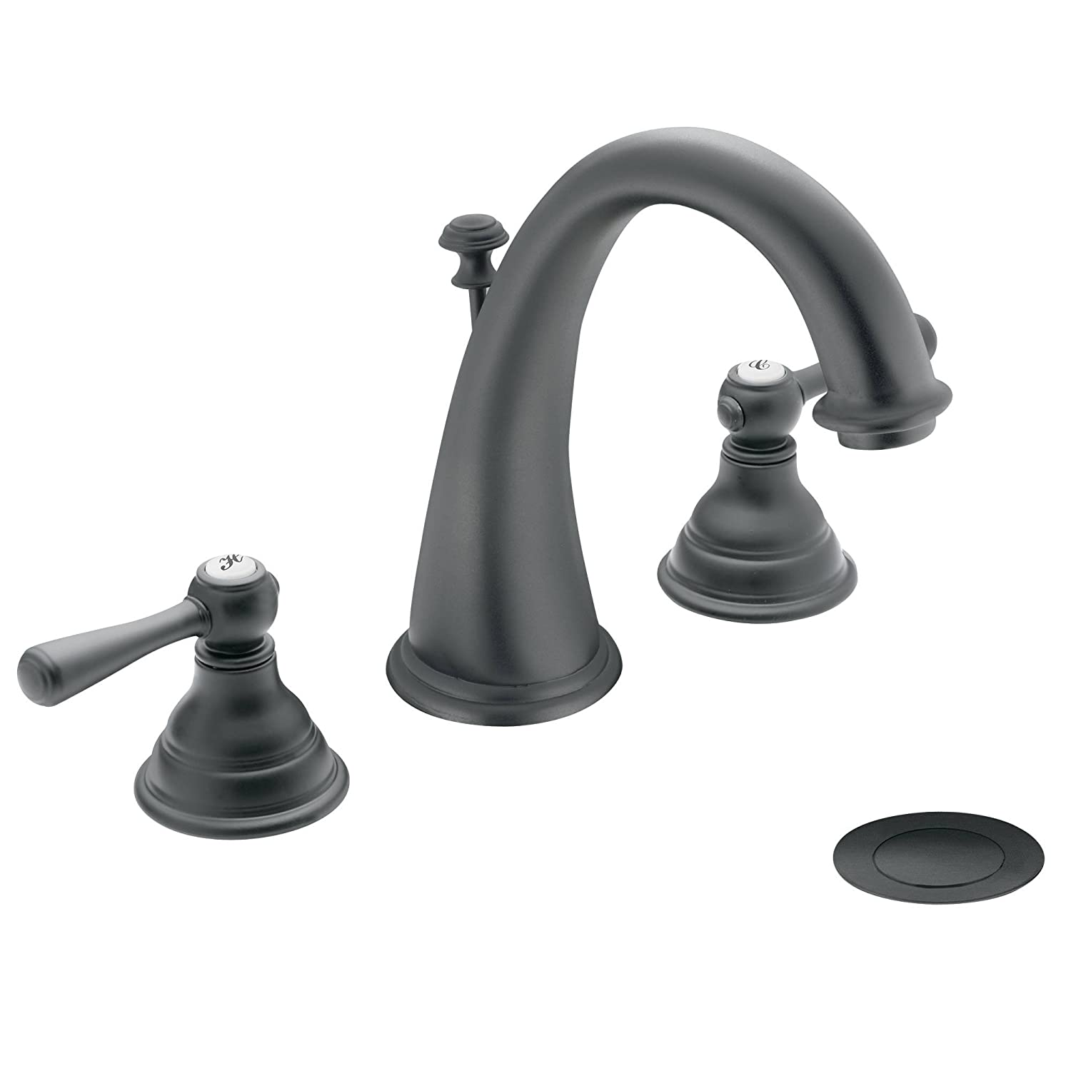 moen t6125an kingsley two handle high arc bathroom faucet without