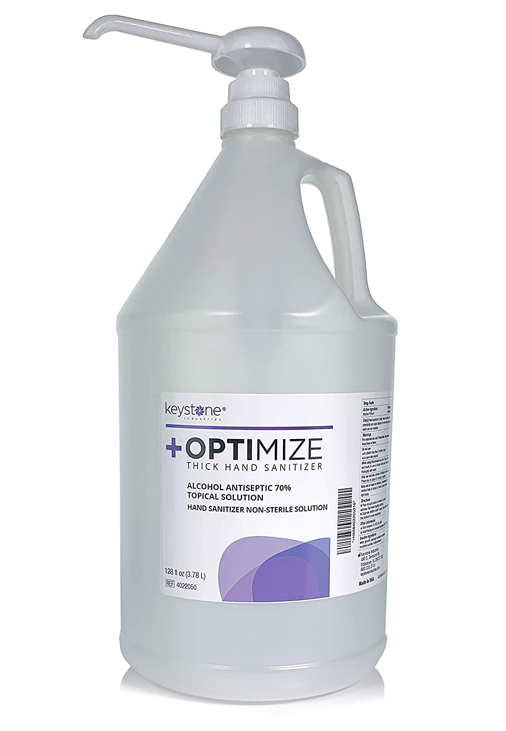 +Optimize Hand Sanitizer 1 gal (128 fl oz) with pump