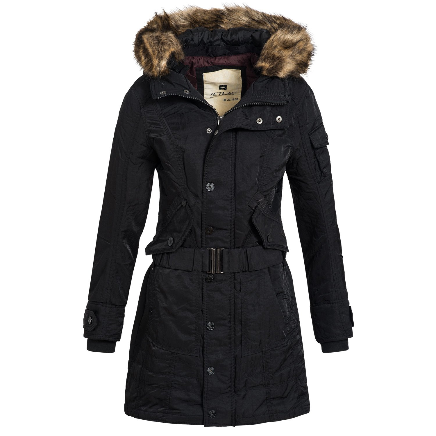 Jetlag Damen Winter Mantel Wintermantel Winterjacke Parka Jacke Mantel YM90
