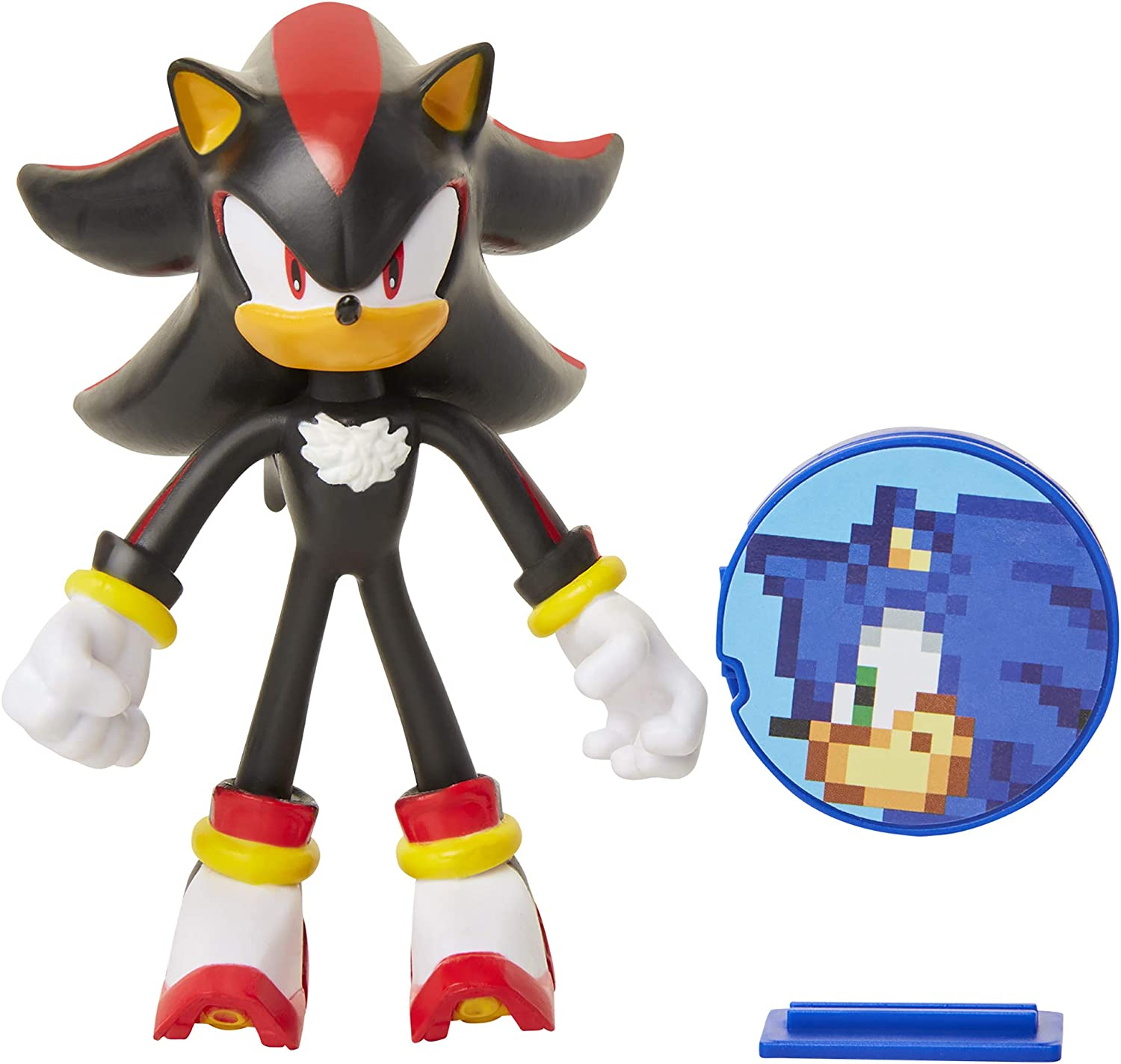 Amazon Com Sonic The Hedgehog 4 Shadow Action Figure Toys Games