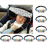Child Head Support, niceEshop(TM)Toddler Car Seat Head Support and Neck Relief Baby Sleep Positioner, Blue Owl