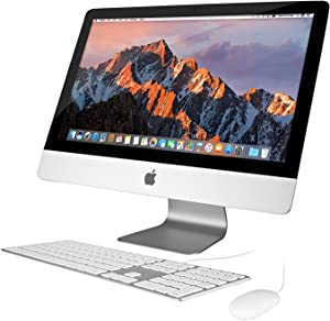 Apple iMac ME087LL/A 21.5 256GB SSD 16GB RAM Intel Core i7 3.1GHz (Renewed)