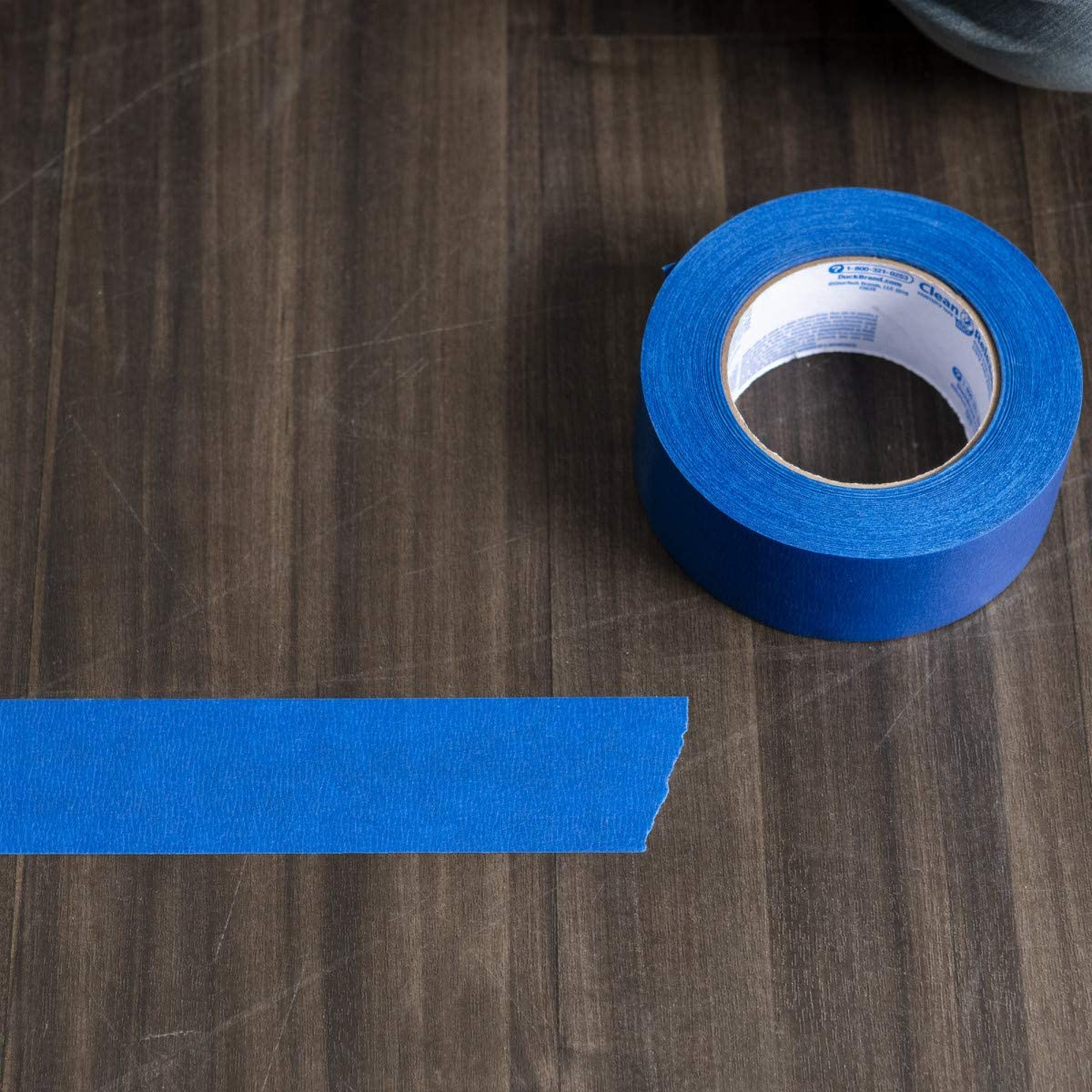 Duck Clean Release Blue Painter's Tape, 2-Inch (1.88-Inch x 60-Yard), Single Roll, 240195 - Cloth Tape -