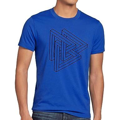 089eef591f Original Escher Triangle Sheldon Men's T-Shirt   Amazon.com