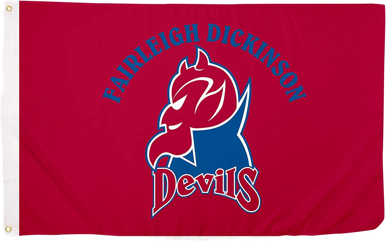 Desert Cactus Fairleigh Dickinson University FDU Knights Devils NCAA 100% Polyester Indoor Outdoor 3 feet x 5 feet Flag