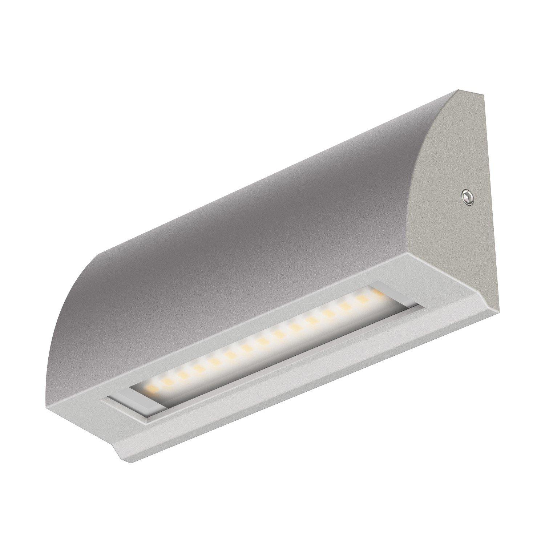 ledscom.de LED Wand-Leuchte Segin Treppenlicht für innen und außen, flach, aufbau, warm-weiß, 190lm warm-weiß LEDs Com GmbH LC-L-125-WW