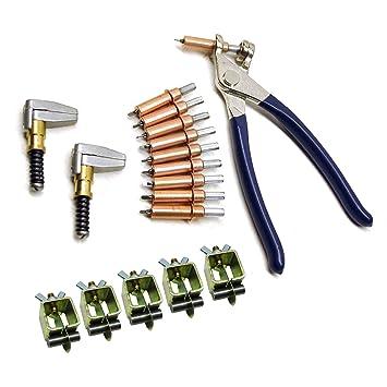 Pinzas de soldadura Intergrips fijadores de chapa metálica 5pk: Amazon.es: Coche y moto