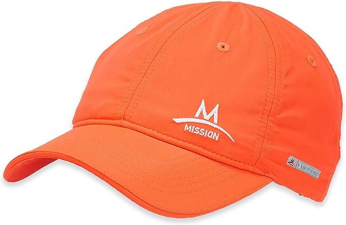 BLUE TOWEL NEW MISSION ENDURACOOL WHITE CAP//HAT