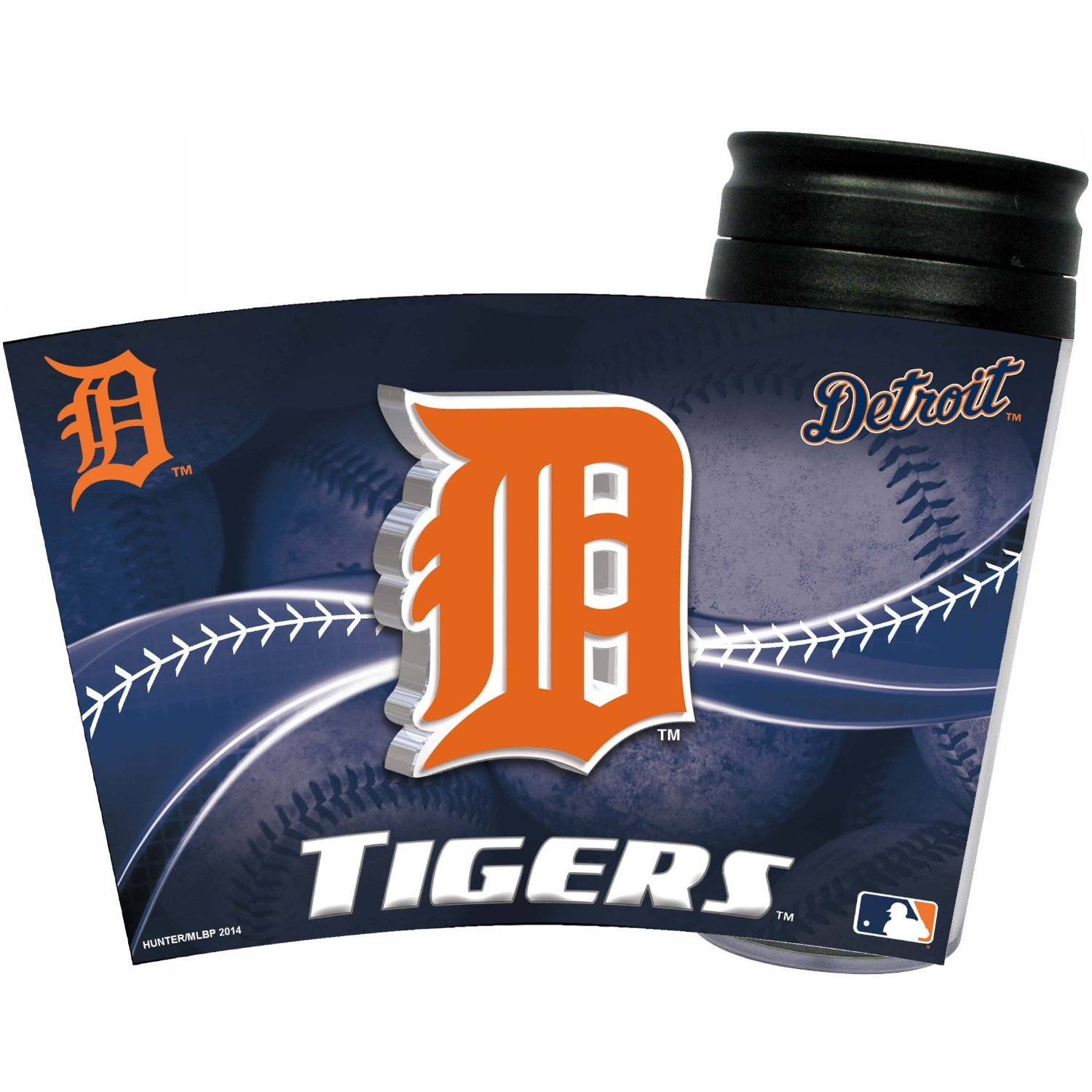 MLB Detroit Tigers Insulated Travel Tumbler