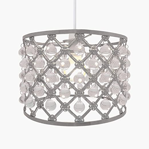 Country Club Easy Fit Pendant Light Shade Bijou Ceiling Decoration ...