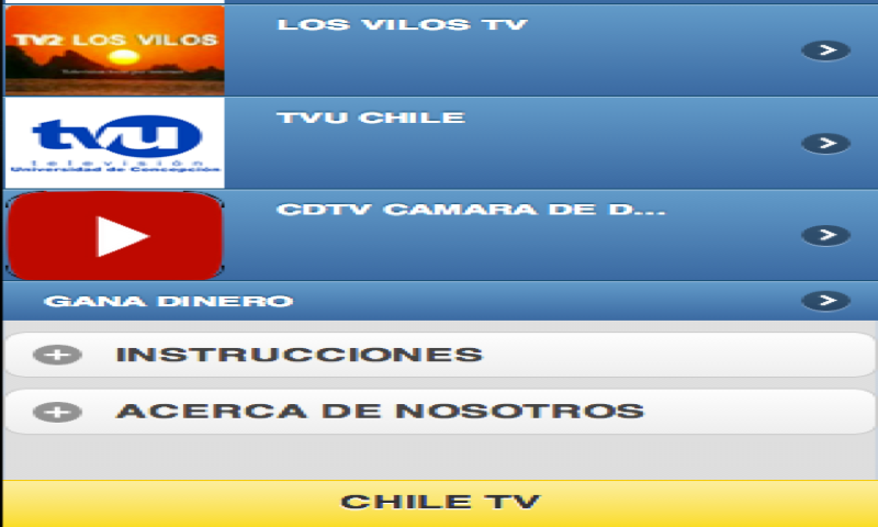 Chile TV: Amazon.es: Appstore para Android