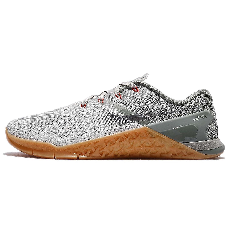 Amazon.com | Nike Metcon 3 Dark Stucco/Metallic Silver/Pale Grey Mens Cross  Training Shoes | Fashion Sneakers