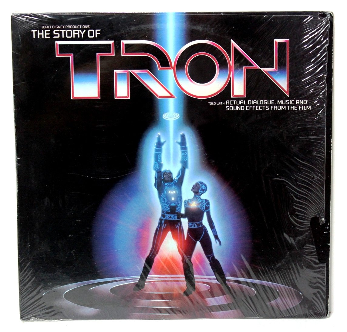 THE STORY OF TRON; Walt Disney Productions, WDP-2517, 1982