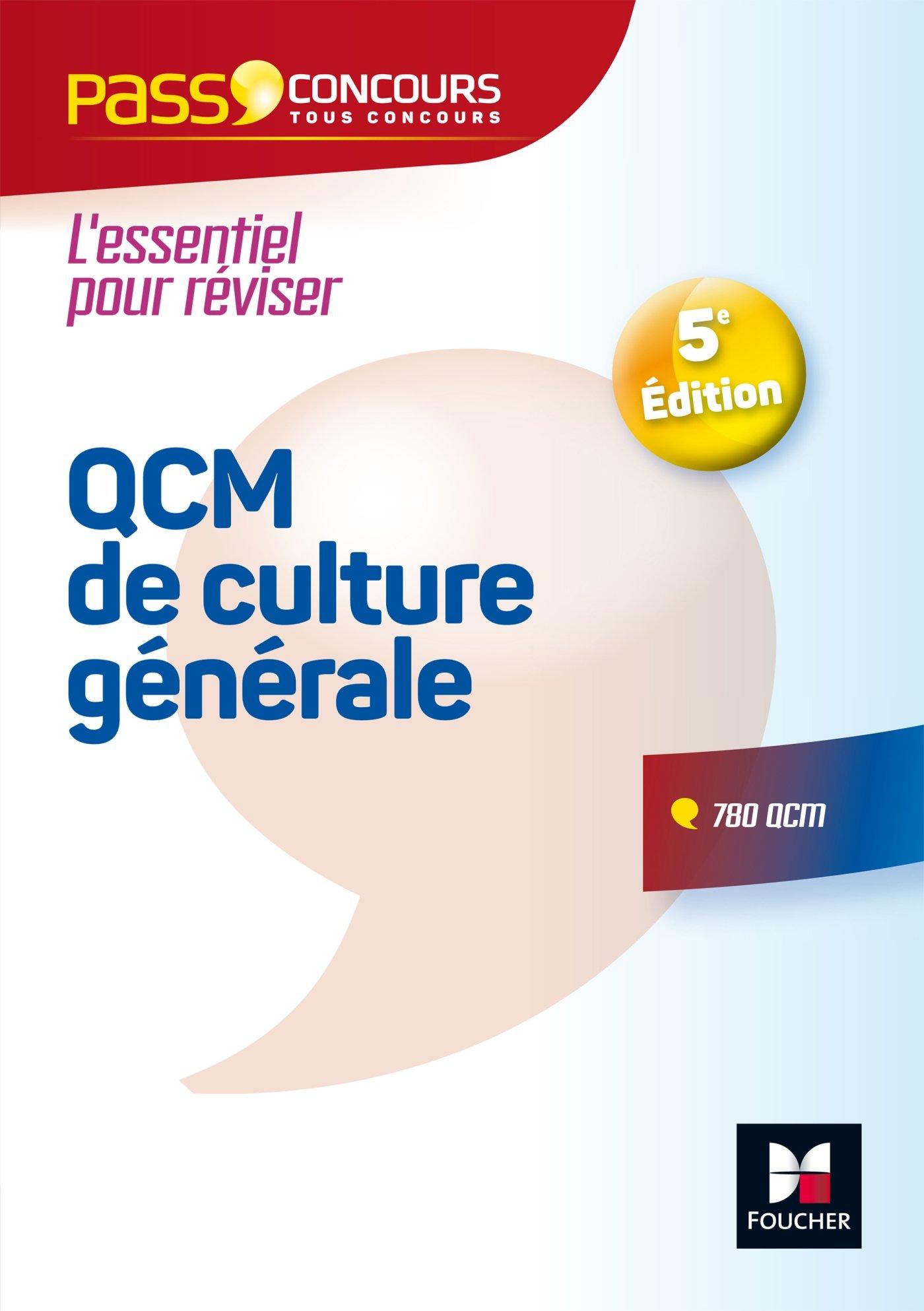 Amazon.fr - Pass'Concours - QCM de culture générale - Tous concours -  Entrainement et révision - Valérie Beal, Anne Ducastel - Livres