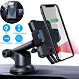 Air Vent Car Phone Mount Auto Clamping 6 5s 4 Samsung Galaxy S10 S9 S8 /& More SE 6s 6 7 7 Blaulock Auto-Sensing/&Chip Control Car Phone Holder Car Cradle Compatible with iPhone Xs XS Max XR X 8 8