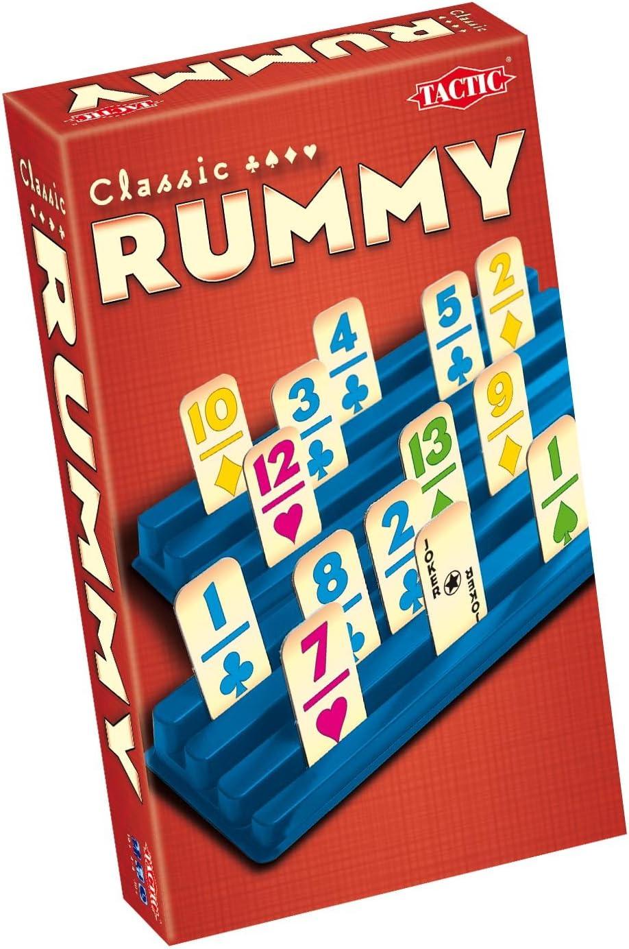 Tactic Rummy Travel - Juego de Cartas de Viaje (Contenido en ...