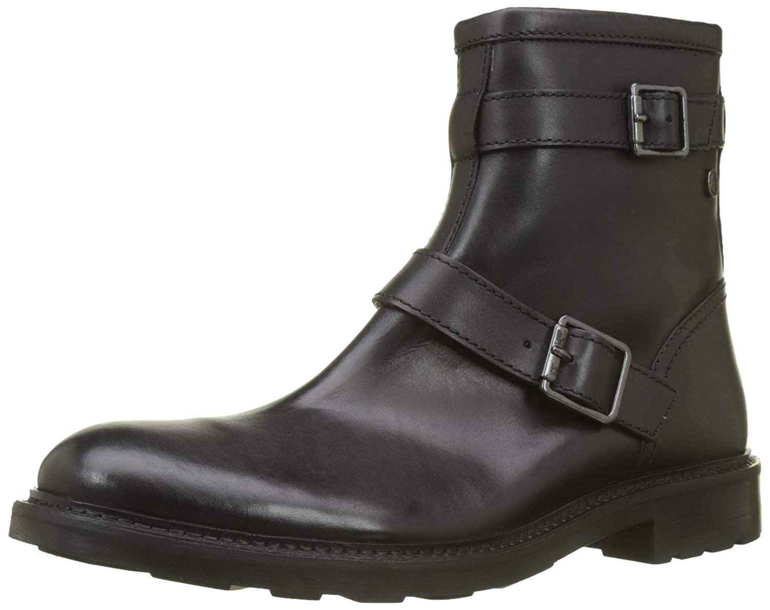 TALLA 44 EU. Base London Ortiz - Botas Estilo Motero Hombre