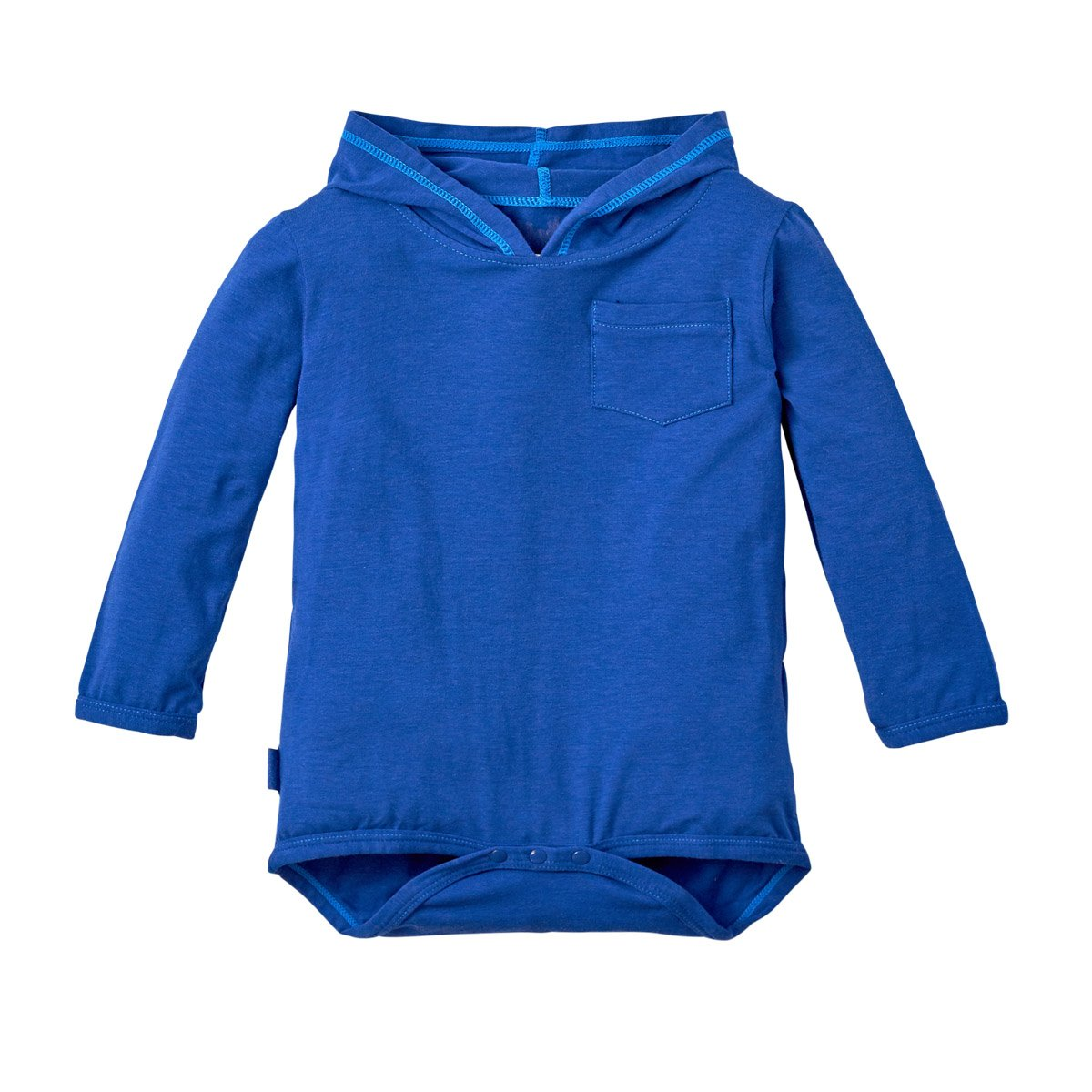 UV SKINZ Hooded Sunzie-Navy Blue 12/24 Months UPF 50+