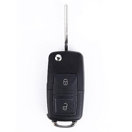 Remote Key Fob carcasa 2 botón