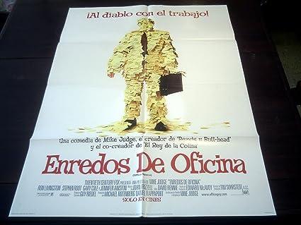 Original Spanish Movie Poster Office Space Ron Livingstone ...