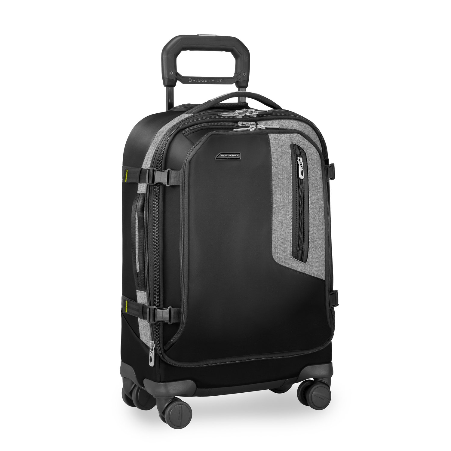 Briggs & Riley BRX Explore Domestic Expandable 22'' Carry on, Black