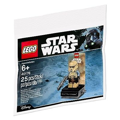 LEGO Star Wars 40176 Scarif Stormtrooper: Toys & Games