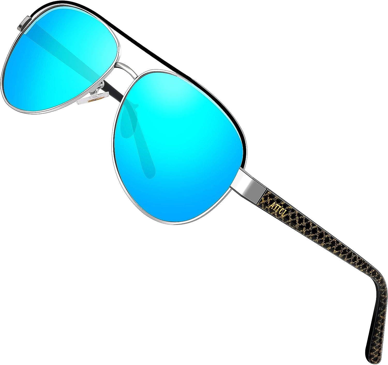 ATTCL sunglasses - Lunettes de soleil - Homme M Bleu