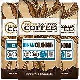 100% Colombian Swiss Water Decaf Coffee, 12 oz. Ground Bags, Fresh Roasted Coffee LLC. (3 Pack)