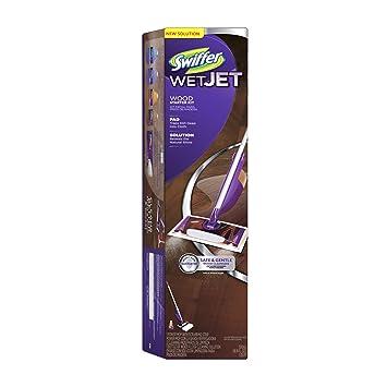 Swiffer Wetjet Mop Wood Floor Starter Kit