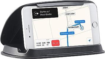 Lescars Handyhalter Kfz Universal Mobilgeräte Halterung Elektronik