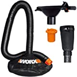 WORX WA4058 LeafPro Universal Leaf Collection System for All Major Blower/Vac Brands, Black/Orange