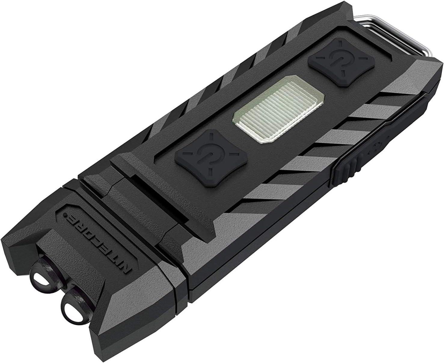 Nitecore Pocket LED 'Thumb' Lámpara, Unisex Adulto, Negro, Talla única