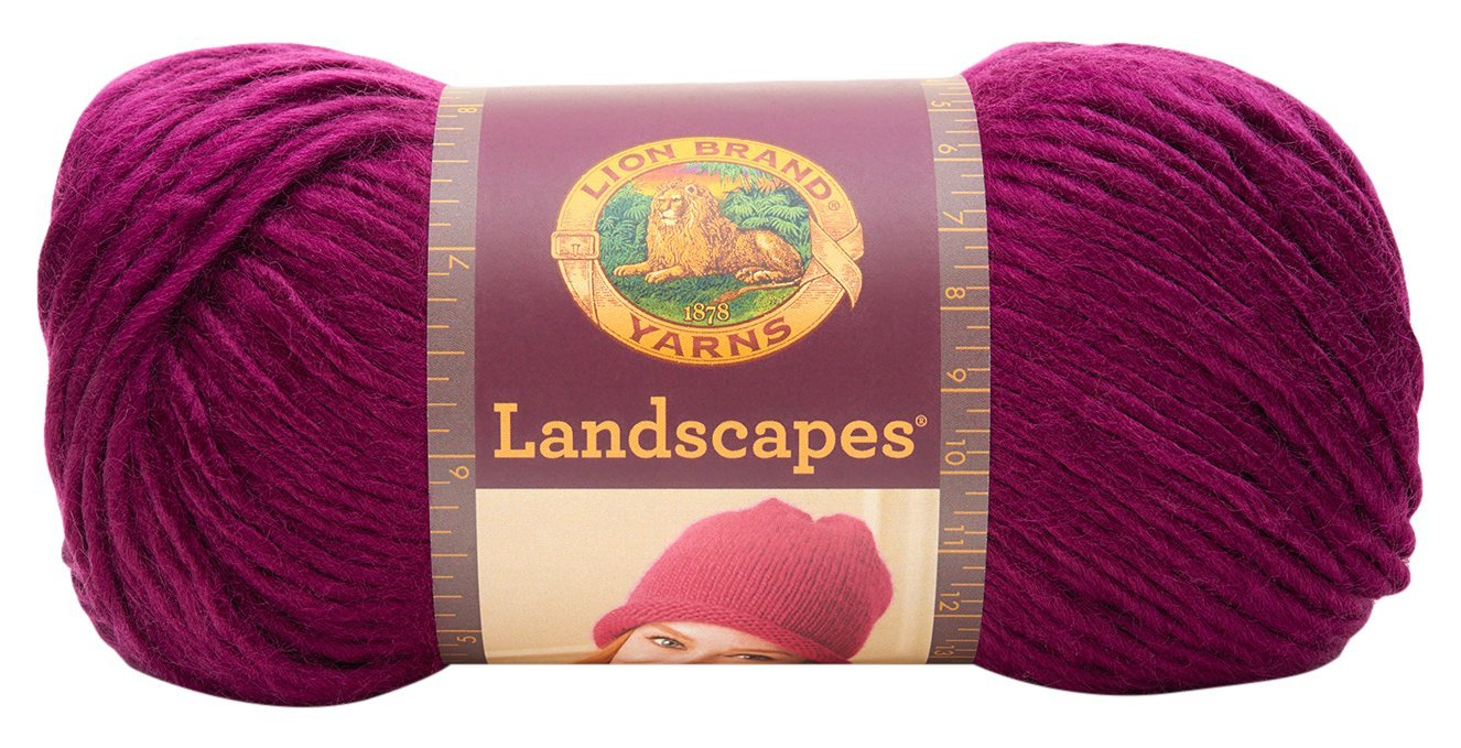 Lion Brand Yarn 545-201 Landscapes Yarn, Boardwalk Lion Brand Yarn Company