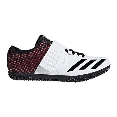 cc2e69dcab18 adidas Adizero HJ Cleat - Unisex Track   Field 4.5 White Core Black Shock