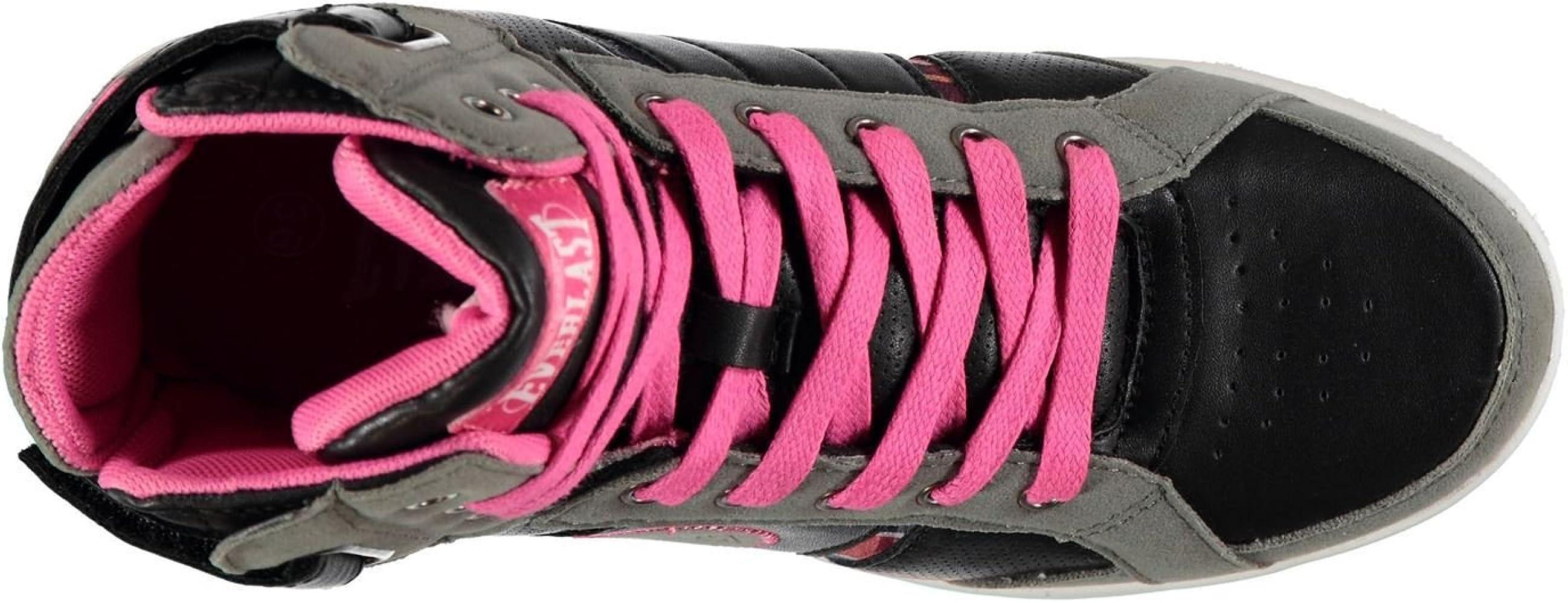 Everlast - Zapatillas para Mujer Black Fushia: Amazon.es: Zapatos y complementos