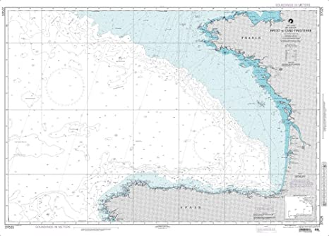 Amazon.com: Paradise Cay Publications NGA Chart 37025: Brest ...
