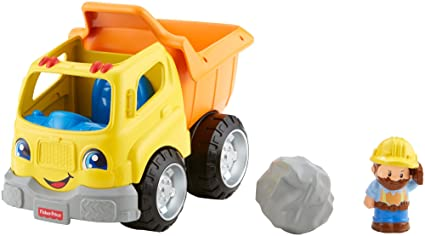 6edfd4492adf7 Amazon.com  Fisher-Price Little People Dump Truck  Toys   Games