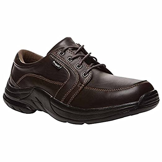 Propet Men's Marv Strap Shoe Brown 12 X (3E) & Oxy Cleaner Bundle