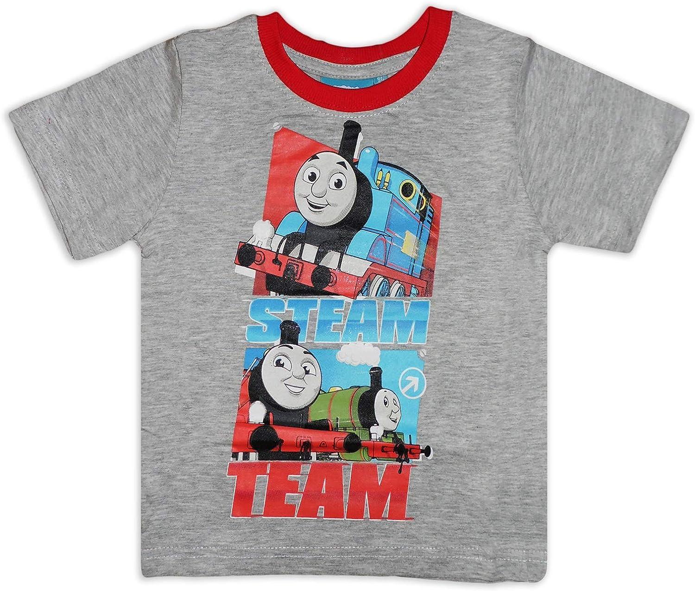 Camiseta de Manga Corta de algod/ón para ni/ños Thomas /& Friends