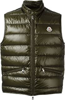 Moncler GUI Padded Gilet : Goldish Gray