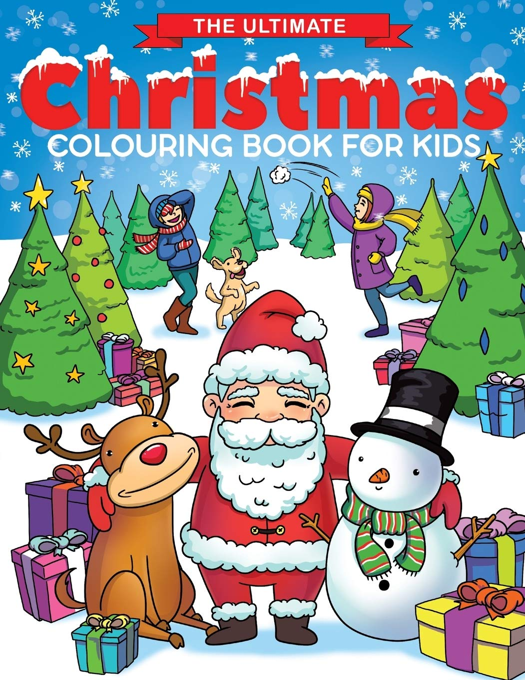 Ultimate Christmas Present.The Ultimate Christmas Colouring Book For Kids Fun