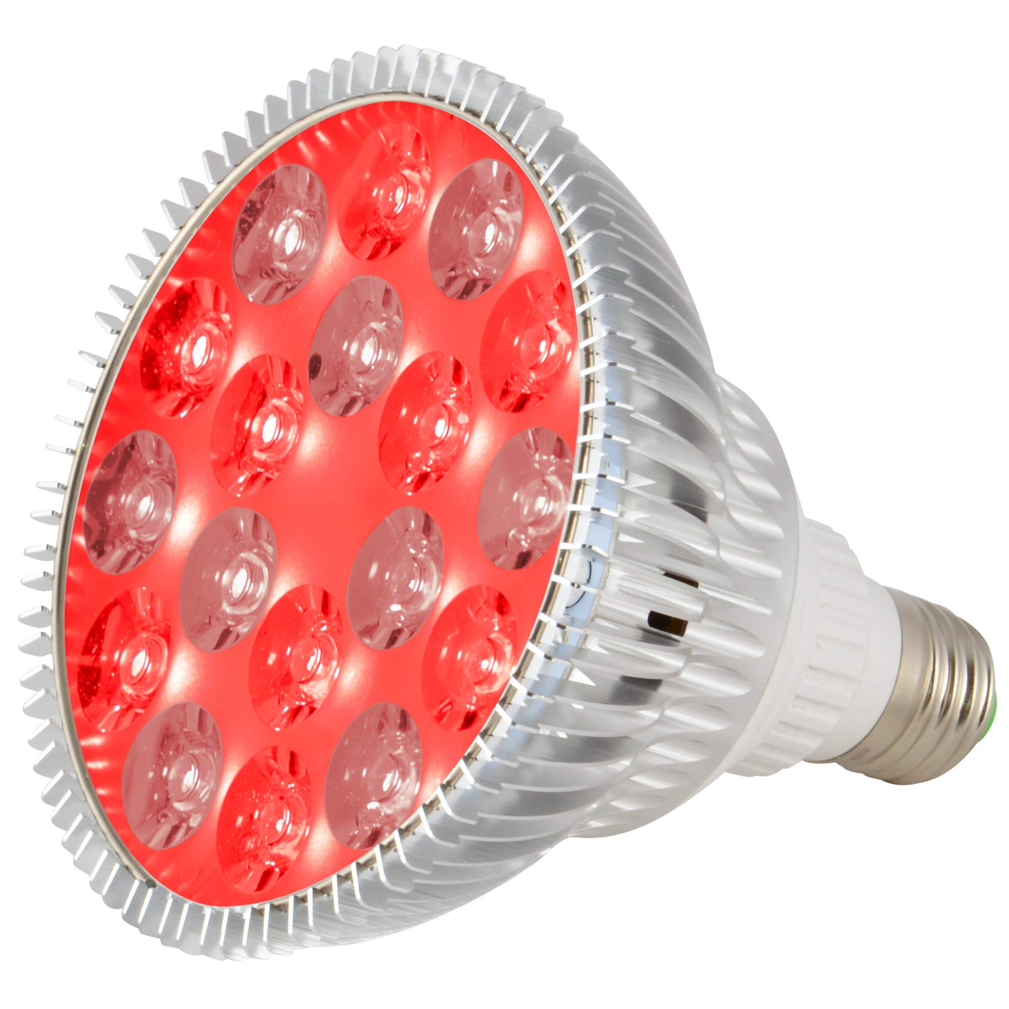 ABI LED Light Bulb for Red Light Therapy, 660nm Deep Red and 850nm Near Infrared Combo, 54W Class by ABI