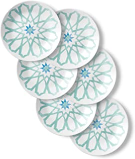 product image for Corelle Chip Resistant Appetizer Plates, 6-Piece, Amalfi Verde