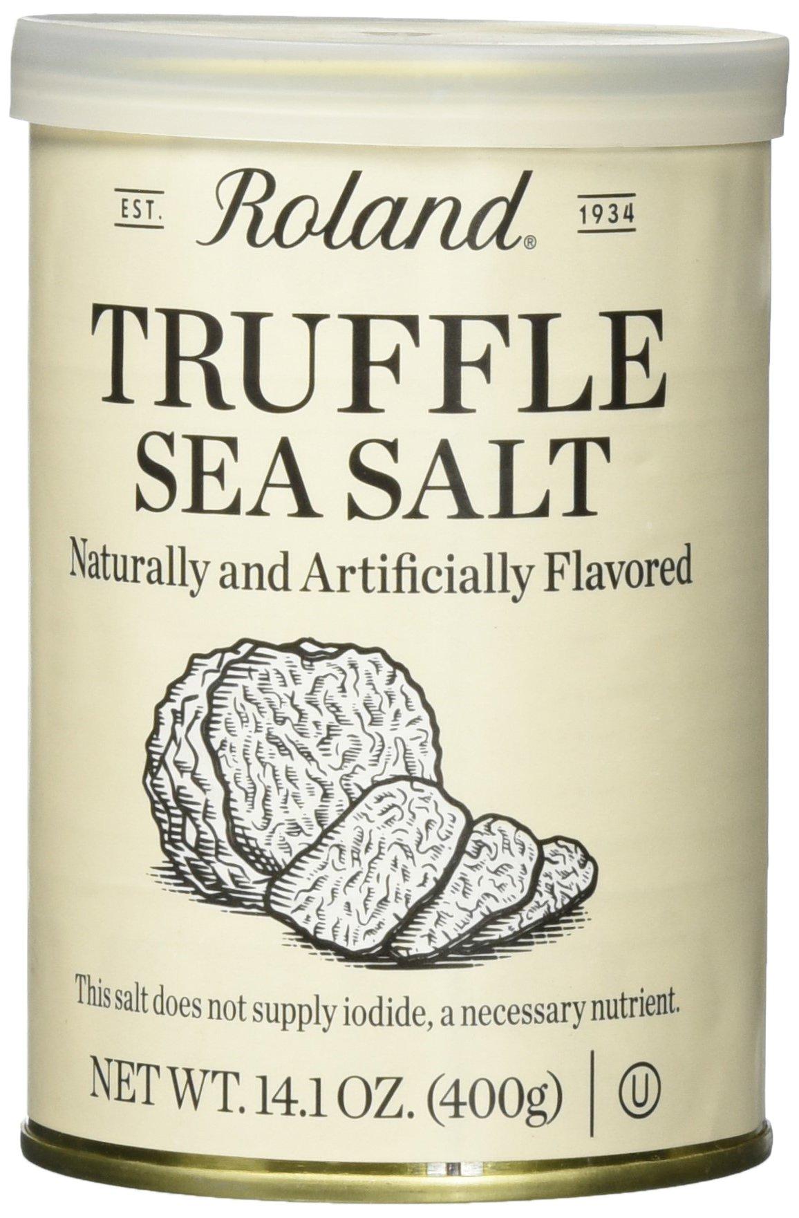 Roland Foods Truffle Sea Salt, 14 Ounce