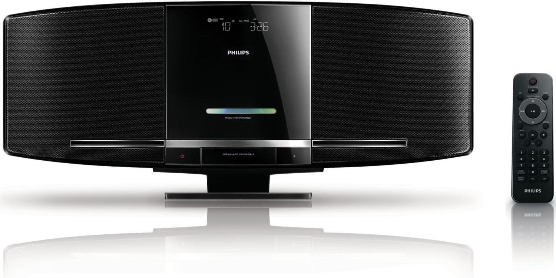 Philips MCM233/12 - Microcadena, negro: Amazon.es: Electrónica